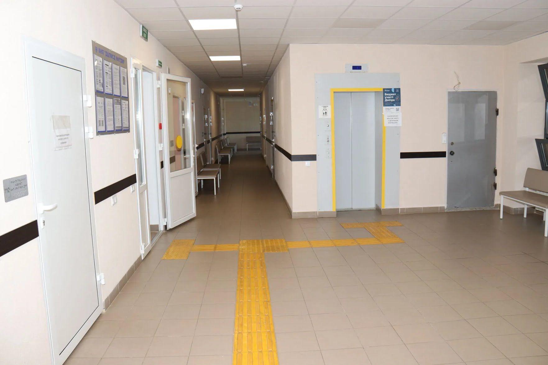 Лікарні обладнали для зручності маломобільних і людей і людей з інвалідністю
