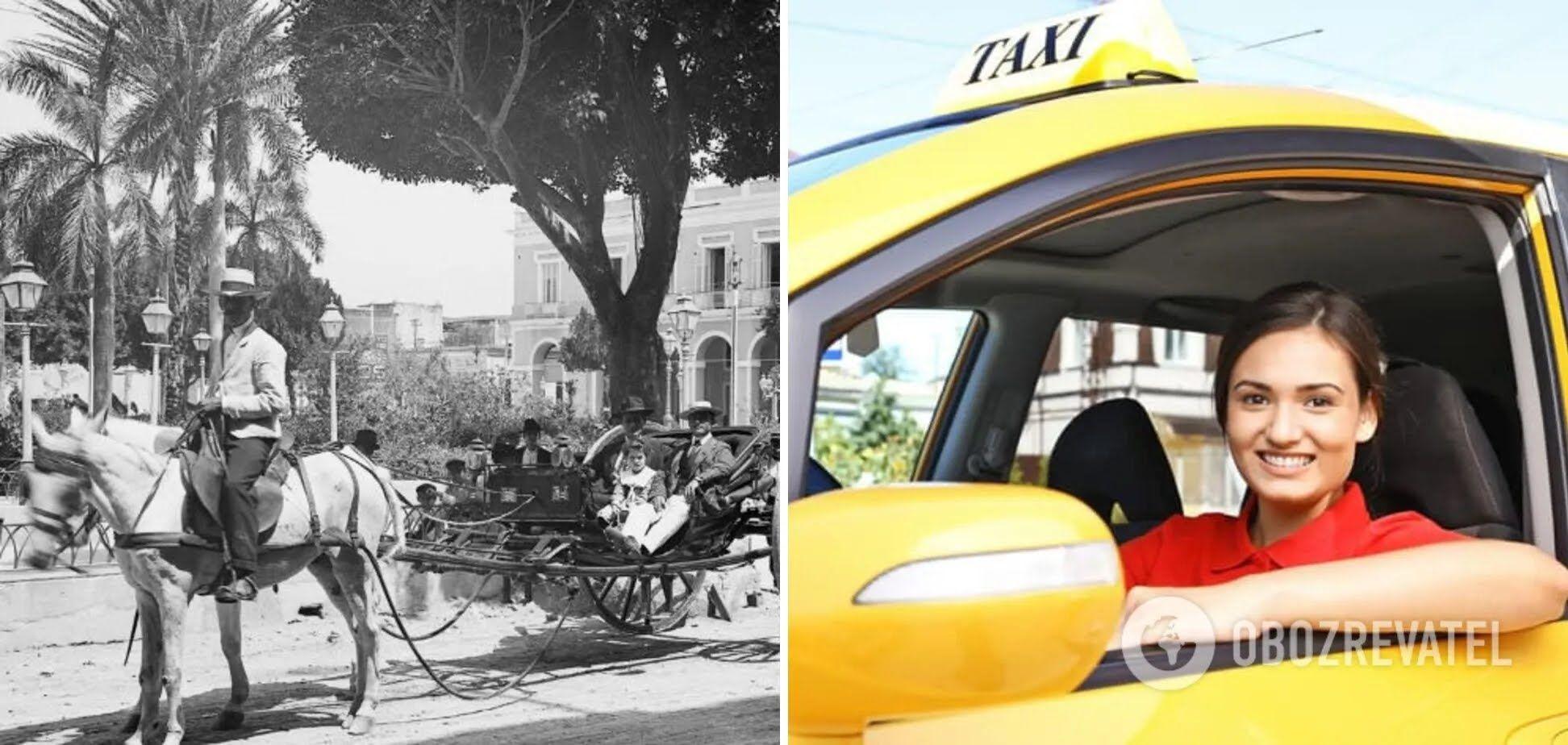 Замість таксистів 100 років тому були кучери на конях