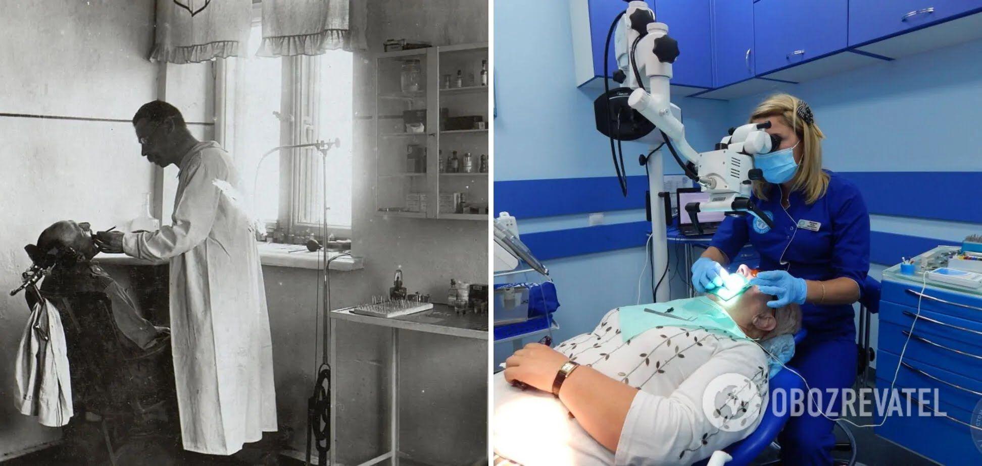 Стомотологи тепер працюють з мікроскопом