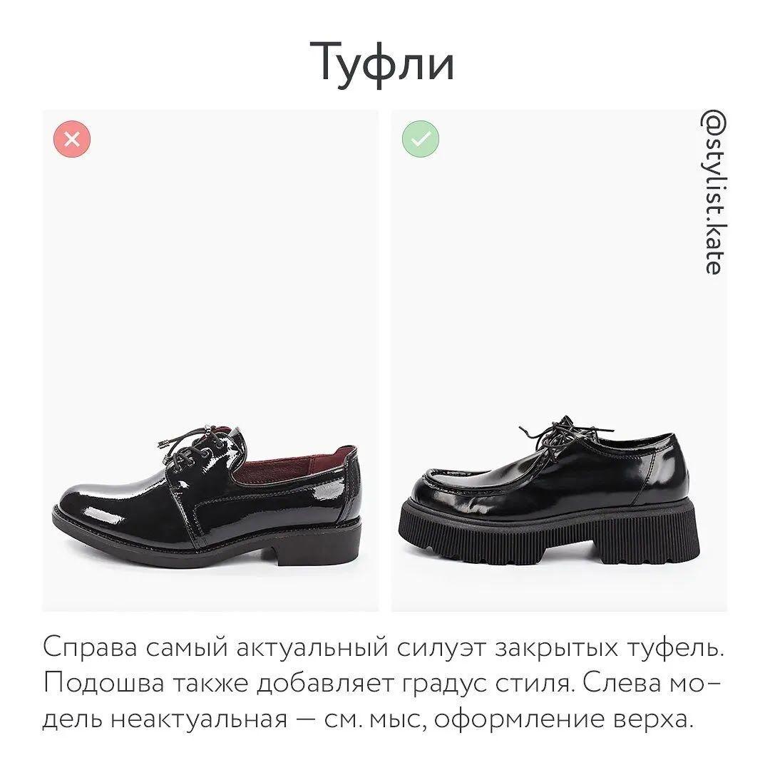 Обувь осень-зима 2021 – туфли.
