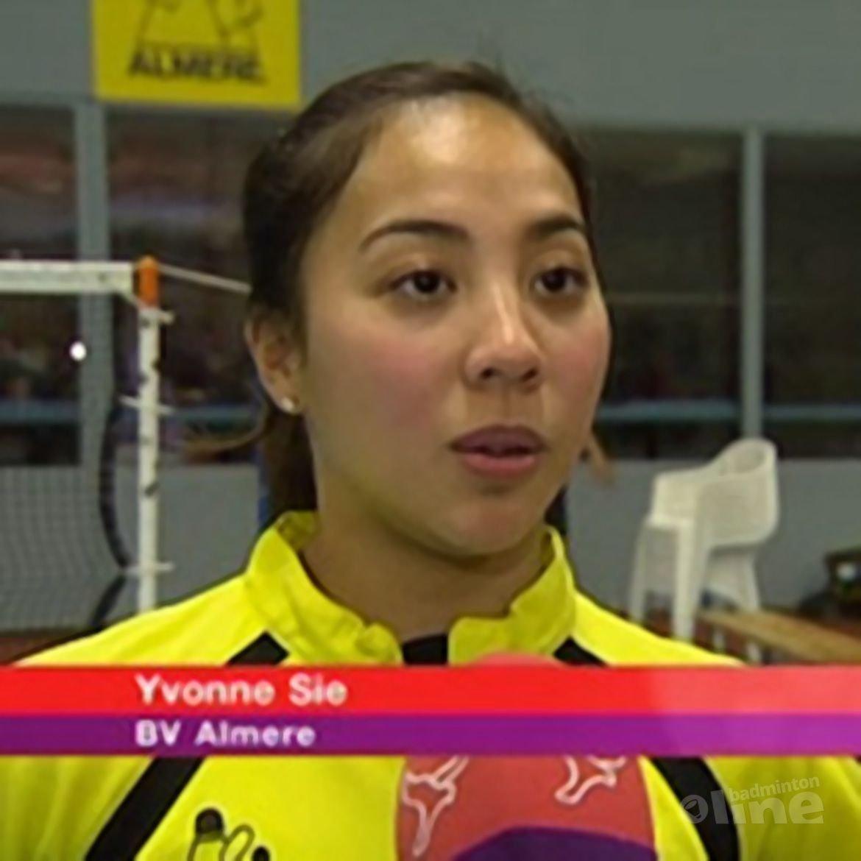 Omroep Flevoland: Badmintonners beginnen met verlies