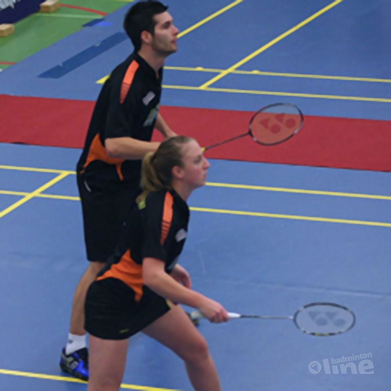 Nederlaag voor Amersfoortse badmintonners