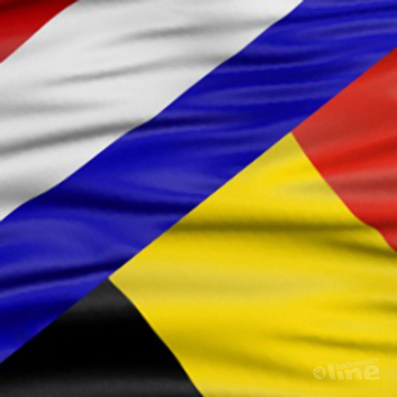 Nederland verslaat België in waar spektakelstuk