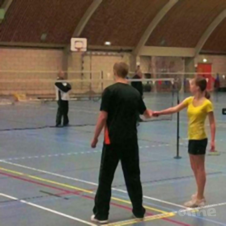 Open huis bij badminton BV Hoogkarspel