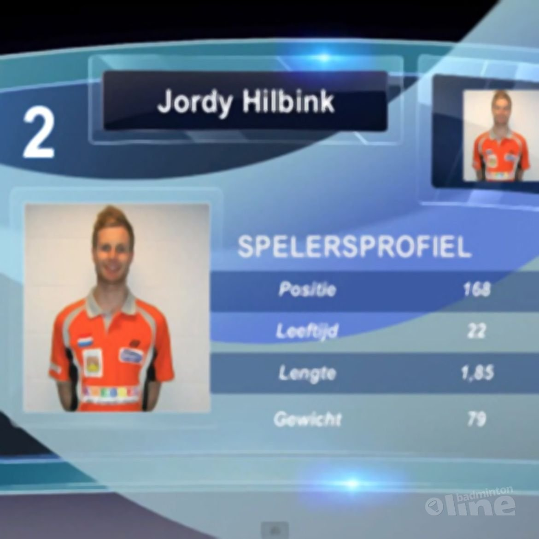 Jordy Hilbink: 'Hoofdtoernooi Austrian international 2013'