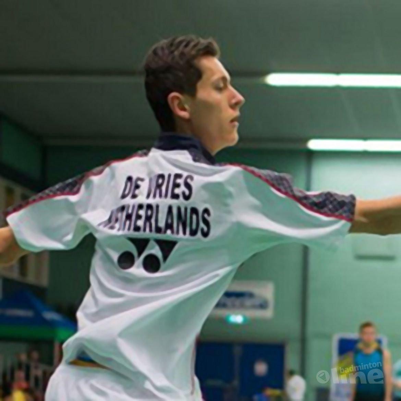 Vincent de Vries naar hoofdtoernooi Slovenia International
