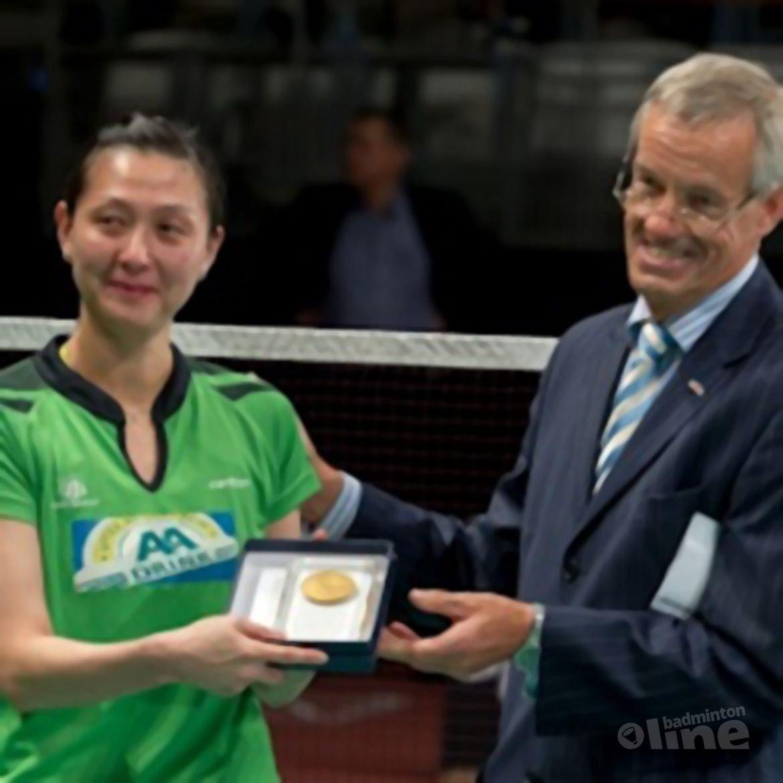 Badminton Nederland gaat samenwerken met Yao Jie