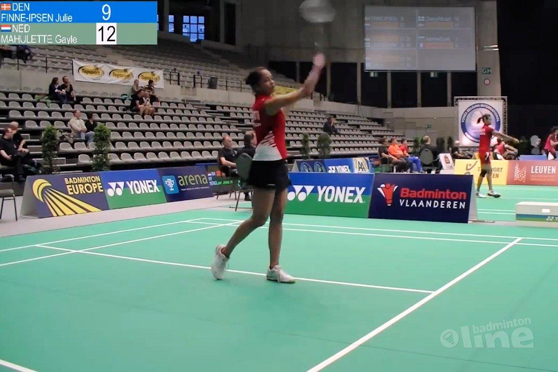 Duo Chen/De Visch Eijbergen door kwalificaties op Belgian International