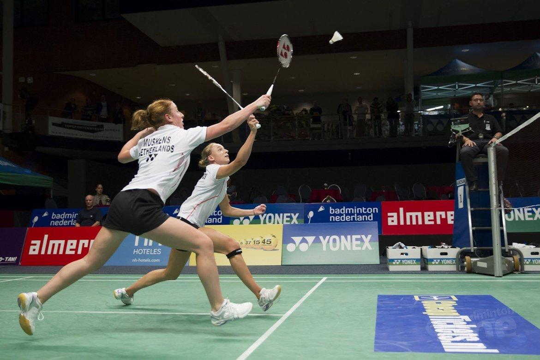 Eefje Muskens/Selena Piek naar halve finale op Yonex Dutch Open