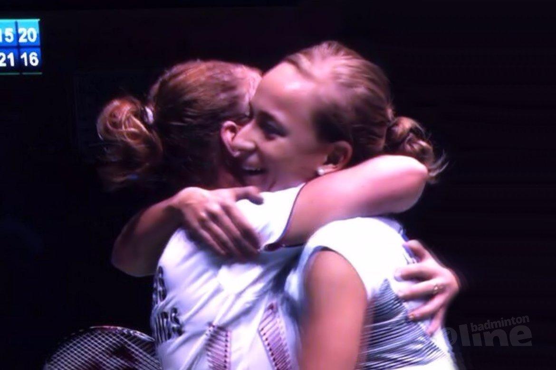 Eefje Muskens en Selena Piek winnen Swedish Masters