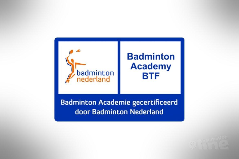 BTF Yonex Academy als eerste academy officieel gecertificeerd