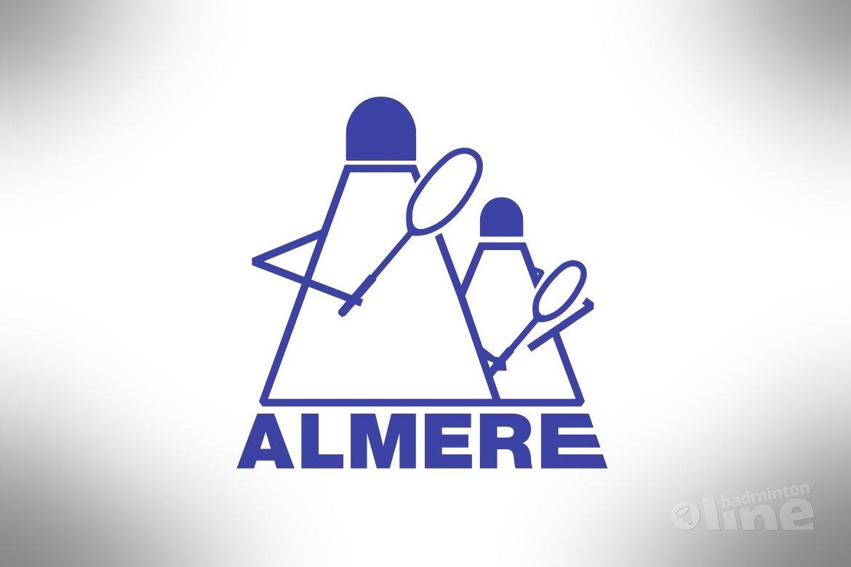 Nederlandse Badminton Eredivisie: Loodzwaar dubbelweekend voor Almere