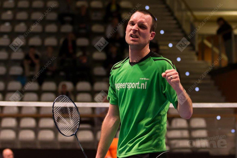 12 en 13 april badmintonnen met Belgen en Denen in Tiel