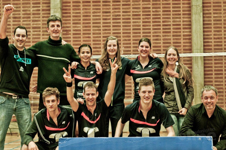 BC Zwijndrecht landskampioen in België