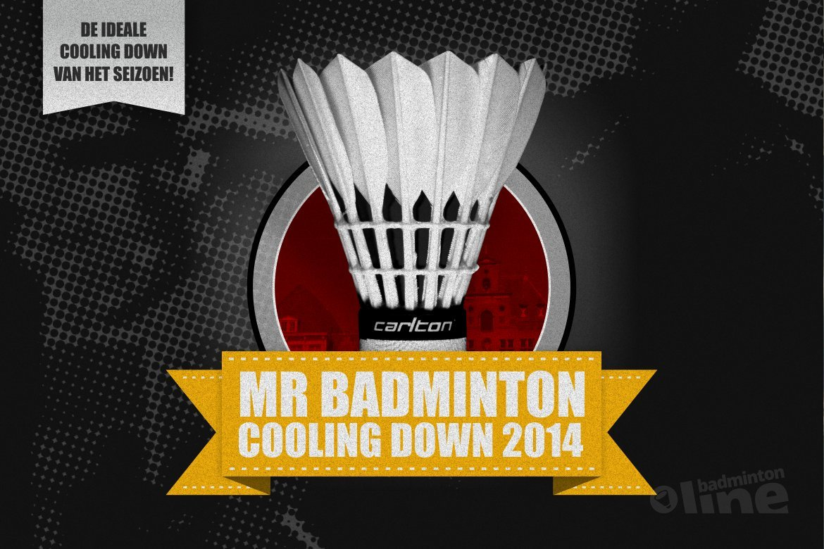 Aanstaand weekend MR Badminton Cooling Down in Bergen op Zoom