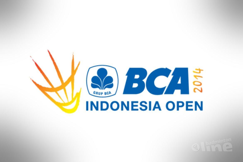 Indonesia Open 2014 gestart met zes Nederlanders