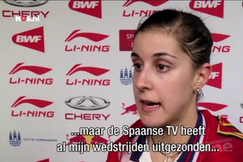 NOS: Spaanse sensatie op WK badminton