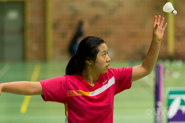 Alida Chen geblesseerd teruggetrokken van Dutch International in Wateringen