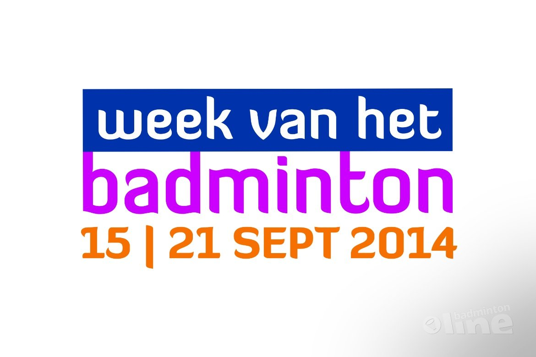 Badminton Nederland wil uw mening over de Week van het Badminton weten