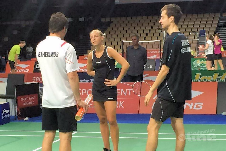 Badmintonsters Piek en Muskens uitgeschakeld in Tokio