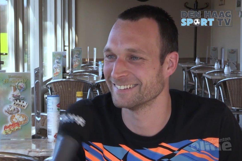 Dennis van Daalen de Jel bij Den Haag Sport TV
