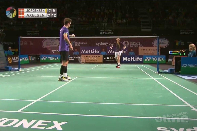 Chen Long to meet Axelsen in Australian Badminton Open final