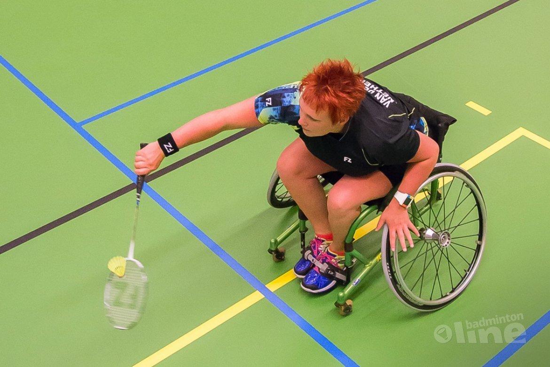 Aangepast Badminton Sliedrecht: de eerste 32 partijen zijn gespeeld