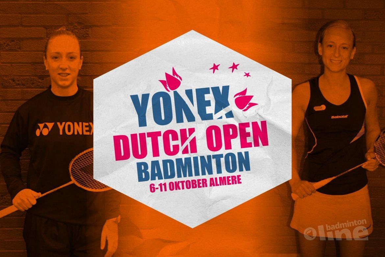 Twee Nederlandse kwartfinales bij Yonex Dutch Open