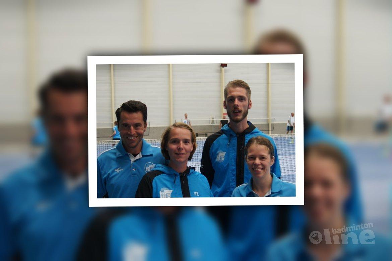 Vlaardingers succesvol bij Schiedamse badmintonclub