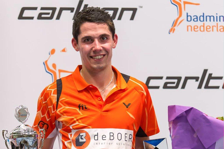 Erik Meijs verovert eerste nationale titel op Carlton NK 2016