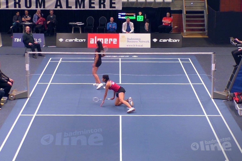 NK Badminton 2016: Gayle Mahulette tegen Alyssa Tirtosentono