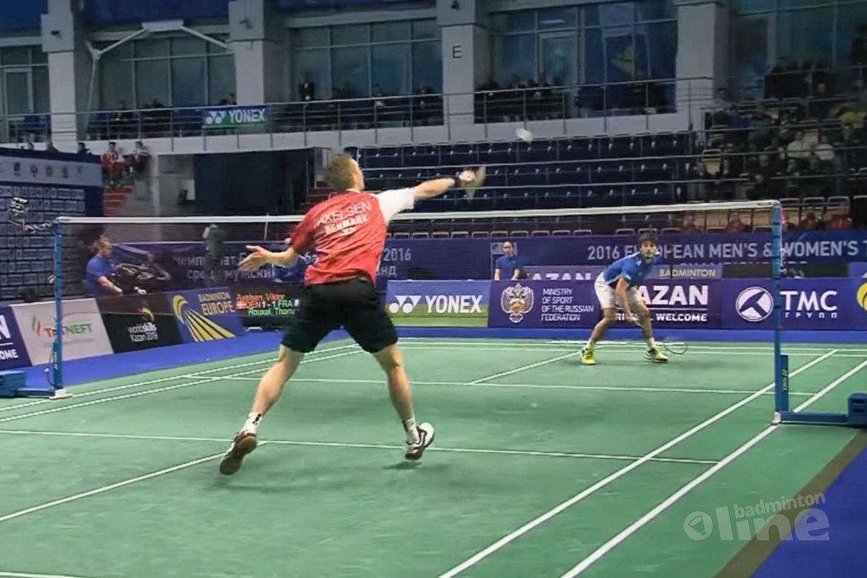 Denemarken domineert opnieuw op EK badminton