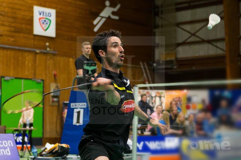 Spanjaard Pablo Abian op kampioenskoers in Wateringen bij Dutch International
