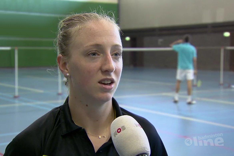 Slapeloze nachten voor Olympisch badmintonner Eefje Muskens