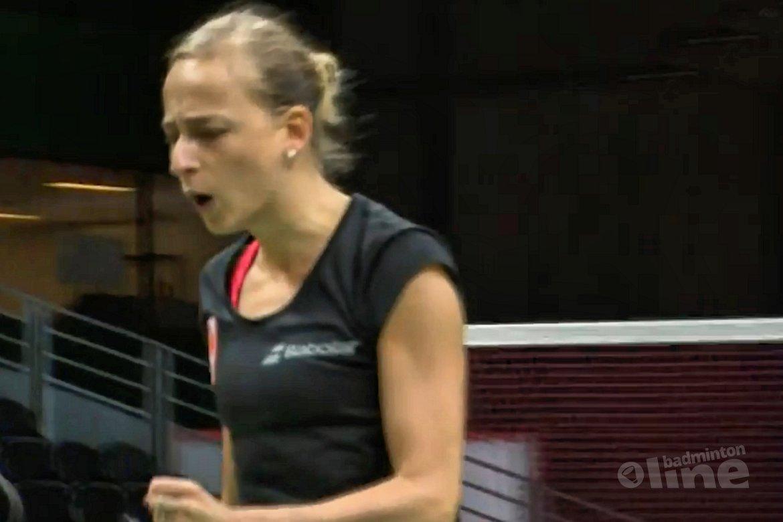 Duo Eefje Muskens / Selena Piek wint in drie sets van India