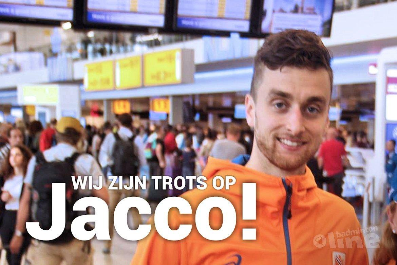 Wij zijn trots op Jacco!