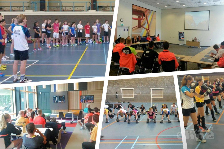 Badminton Nederland talentcoaches investeren tijd en energie in ontwikkelingsplan spelers nationale jeugdselectie