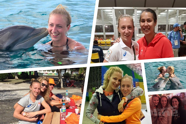 Afscheid Eefje Muskens tijdens Dutch Open