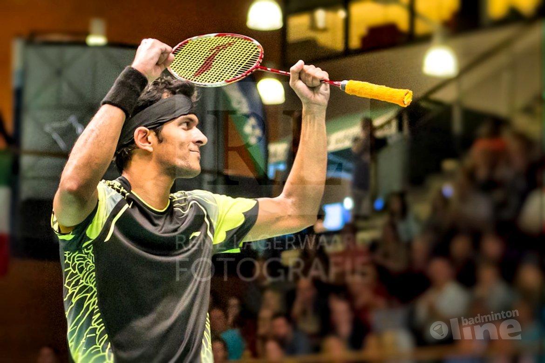 Dutch Open 2016: Jayaram gaat vandaag voor drie op rij