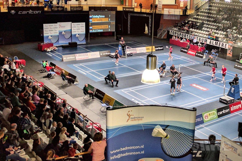 Het NK Badminton van 2017: een matig bezet toernooi