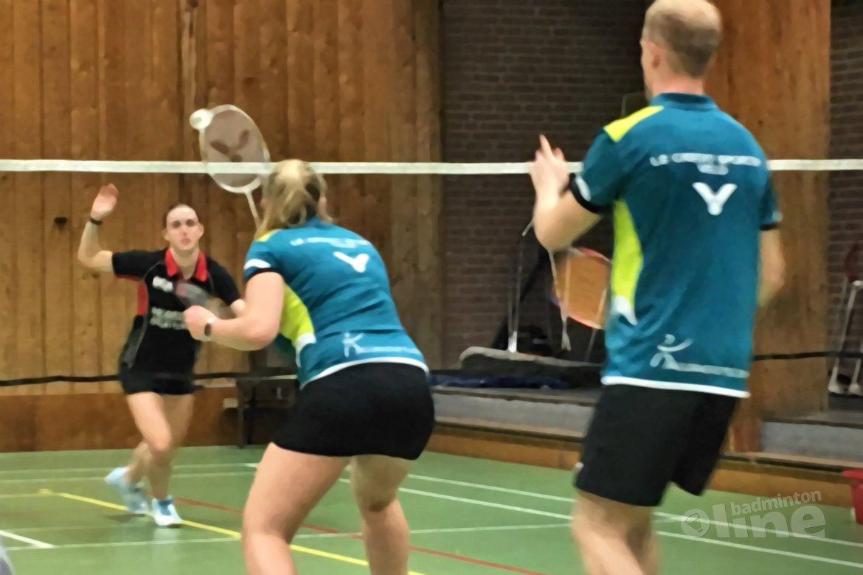 Spannend dubbelweekend voor VELO in de Nederlandse Badminton Eredivisie