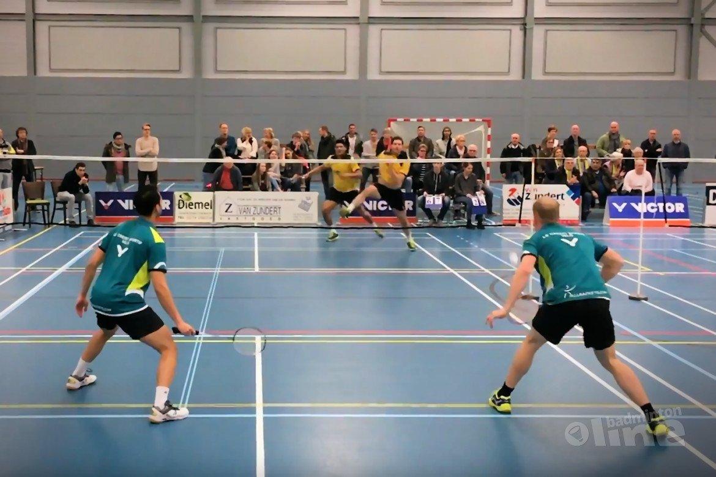 Sombere badmintonzondag voor VELO