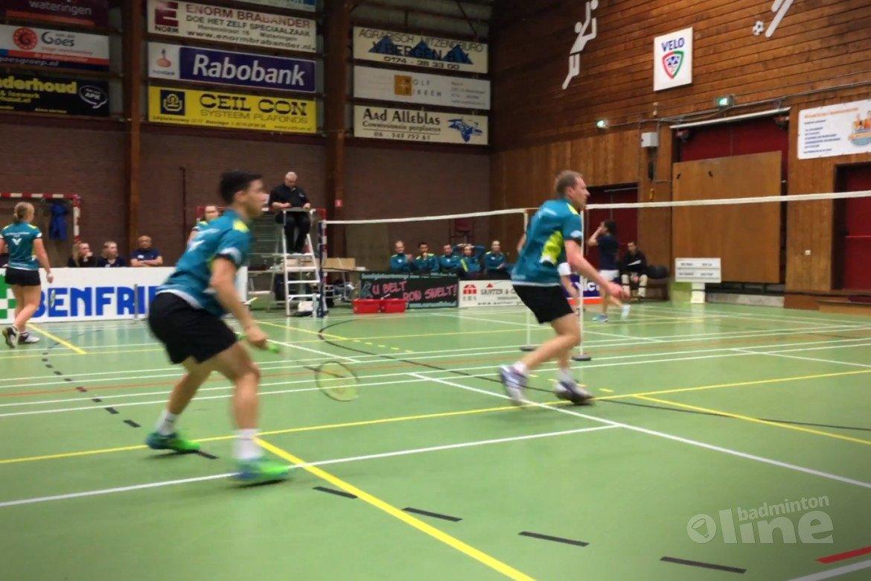 VELO uitgeschakeld in Nederlandse Badminton Eredivisie 2017-2018