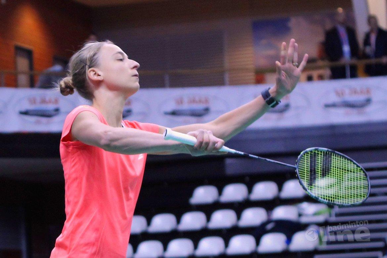 Kwartfinales Swiss Open eindstation voor Selena Piek