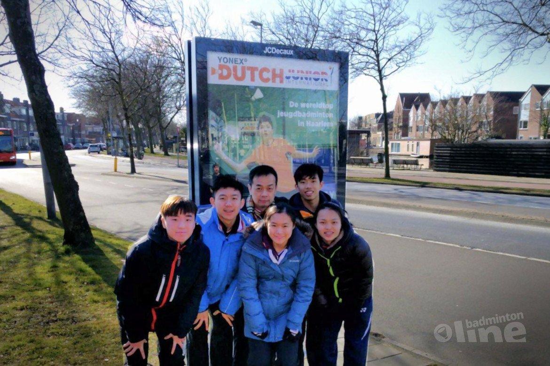 Internationaal jeugdtoernooi Dutch Junior in Haarlem uit de startblokken