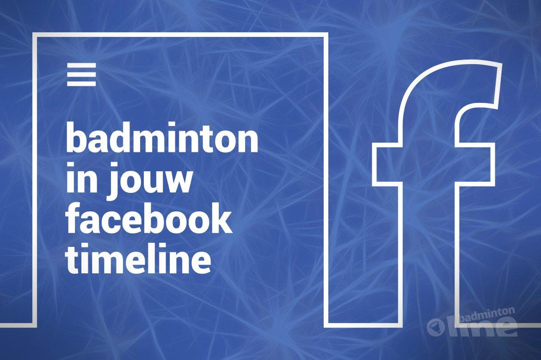 Wat je moet doen als je badmintonline.nl graag via Facebook leest