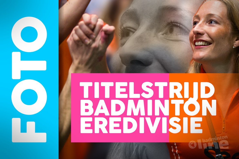 Badmintonfoto's: Titelstrijd om landskampioenschap in Nederlandse Badminton Eredivisie