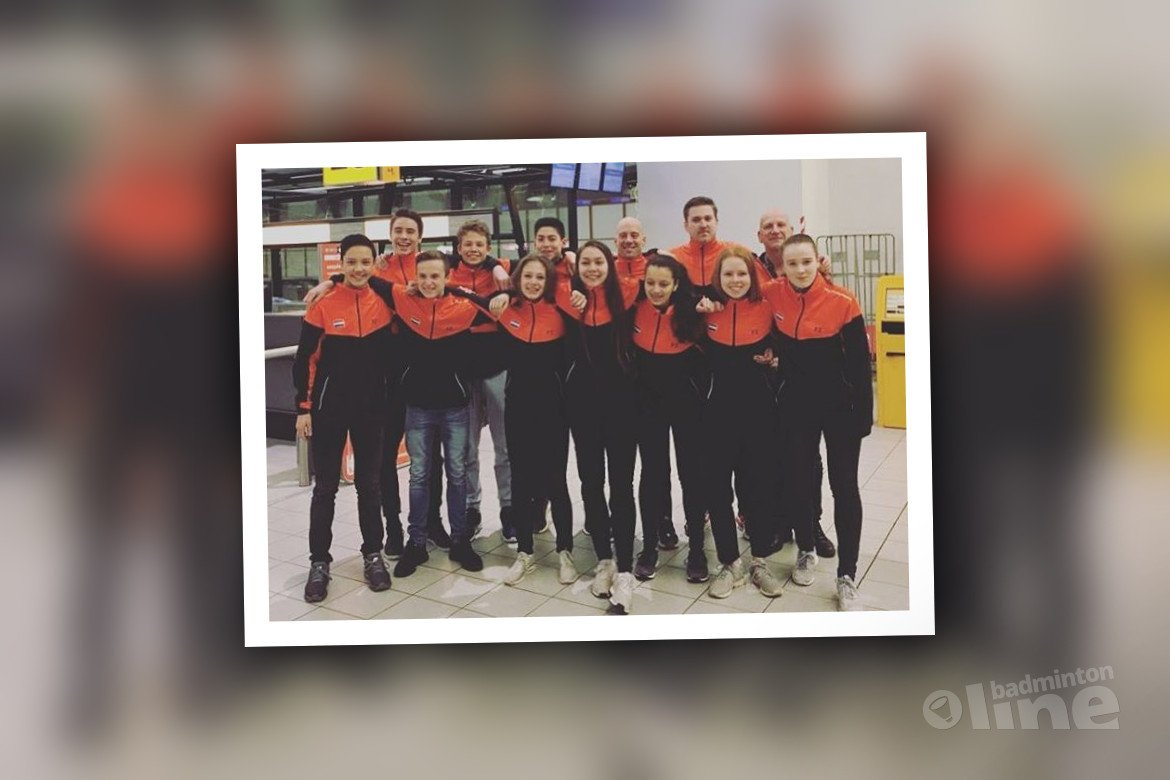 Nederlandse badmintonkids naar U17 Six Nations 2018 in Milton Keynes