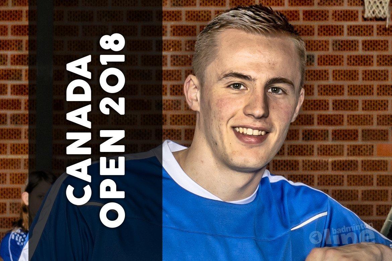 Mark Caljouw beoogd finalist bij Canada Open 2018
