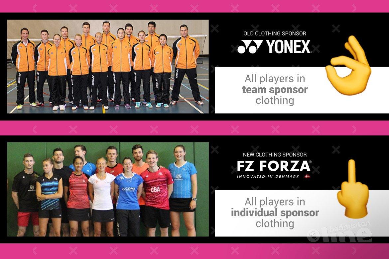 Badminton Nederland steekt middelvinger op naar FZ Forza directeur Martin Lundgaard Hansen?